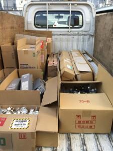 品川区西五反田で回収した照明器具