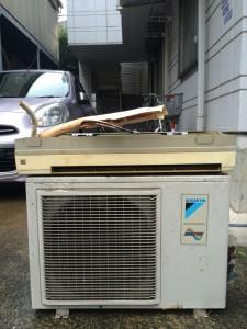 川崎市中原区でエアコンを無料回収