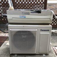 川崎市多摩区で無料回収したエアコン