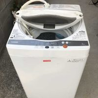 横浜市港北区にて回収した洗濯機