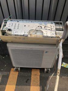 川崎市川崎区でエアコンを無料取り外し無料回収